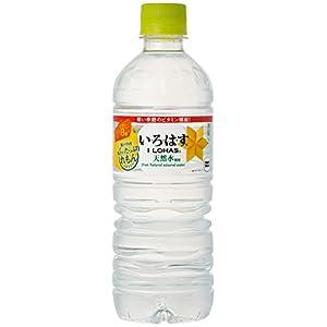 コカ・コーラ い・ろ・は・す 天然水 たっぷりれもん ペットボトル 555ml×24本