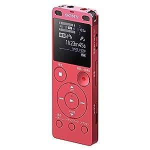 ソニー SONY ステレオICレコーダー ICD-UX560F : 4GB リニアPCM録音対応 ピンク ICD-UX560F P