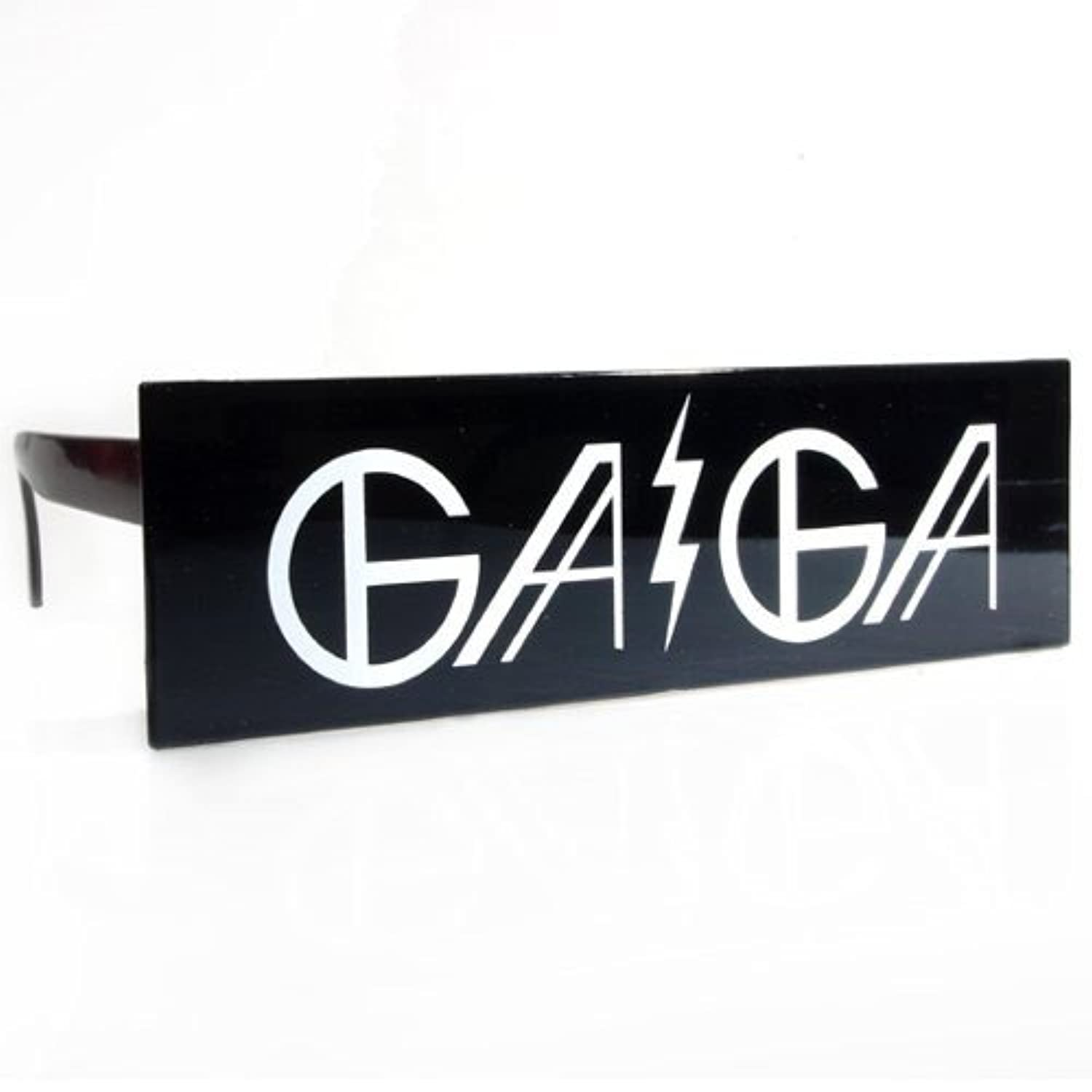 Fun Party Toy - Gaga black bar sunglasses
