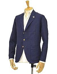 LARDINI【ラルディーニ】シャツジャケット JMAMA/EEC717/831 コットンリネン ネイビー