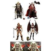 Castlevania 悪魔城ドラキュラ 7インチ アクションフィギュア 全5種セット