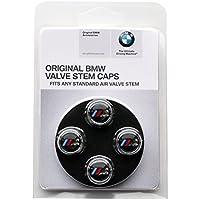 """【BMW・直輸入純正品】 BMW 全車種・全年式適合 """"M""""ロゴ入り エアバルブキャップ"""