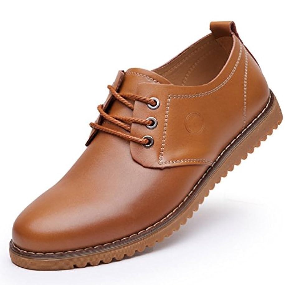 チャンピオンシップチャールズキージング物思いにふけるメンズ シューズ ビジネス カジュアル ローファー モカシン ローカット 革靴 ブラック イエロー ブラウン 軽量 歩きやすい 防水 滑り止め加工 通学 通勤用 紳士靴 24cm-28cm