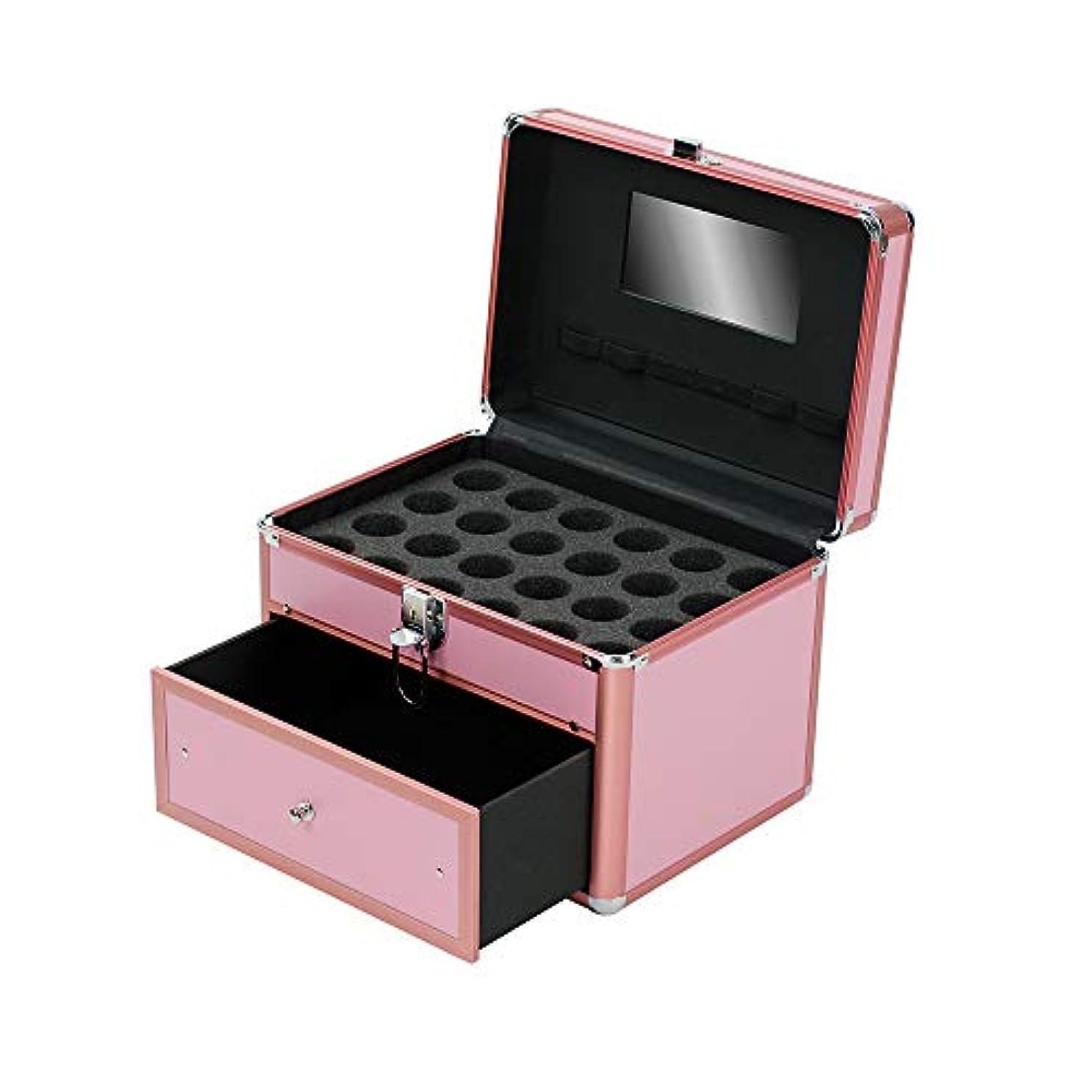 脈拍嘆く精度特大スペース収納ビューティーボックス 女の子の女性旅行のための新しく、実用的な携帯用化粧箱およびロックおよび皿が付いている毎日の貯蔵 化粧品化粧台