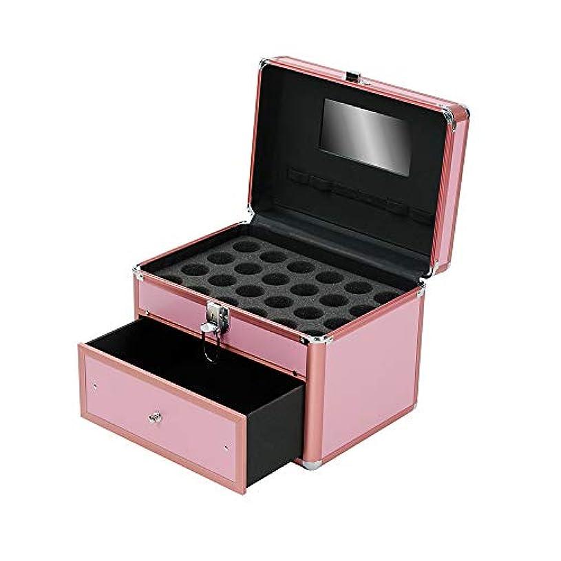 許容できるビット確実特大スペース収納ビューティーボックス 女の子の女性旅行のための新しく、実用的な携帯用化粧箱およびロックおよび皿が付いている毎日の貯蔵 化粧品化粧台