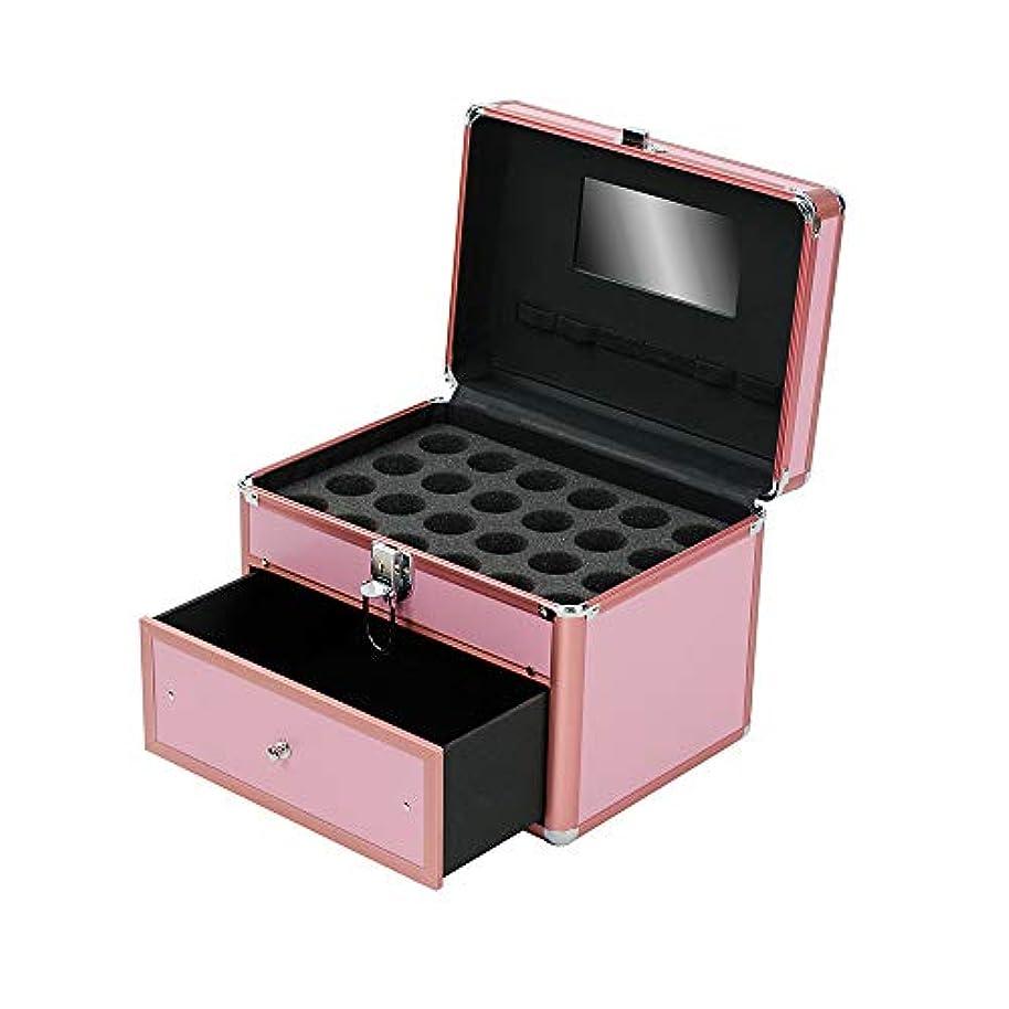 形容詞アナリストビバ特大スペース収納ビューティーボックス 女の子の女性旅行のための新しく、実用的な携帯用化粧箱およびロックおよび皿が付いている毎日の貯蔵 化粧品化粧台