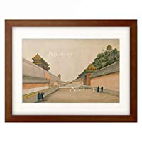 Iwan Alexandrow 「The imperial palace (Chineses illustration).」 額装アート作品