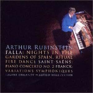 サン=サーンス:ピアノ協奏曲第2番&ファリャ:スペインの庭の夜、フランク:交響的変奏曲