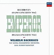 【Amazon.co.jp限定】ベートーヴェン: ピアノ協奏曲第5番《皇帝》&第4番 (SHM-CD)(特典:クラシックロゴ入り ストーンペーパーコースタ