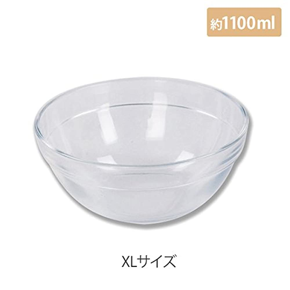 マイスター プラスティックボウル (XLサイズ) クリア 直径20cm [ プラスチックボール カップボウル カップボール エステ サロン プラスチック ボウル カップ 割れない ]