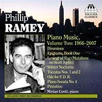 ラミー:ピアノ作品集 2 (1966 - 2007)(コンティ)
