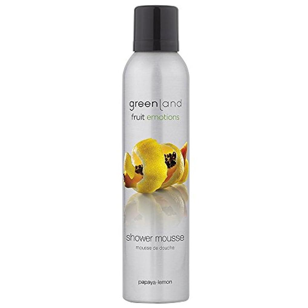 greenland [FruitEmotions] シャワームース 200ml パパイア&レモン FE0071