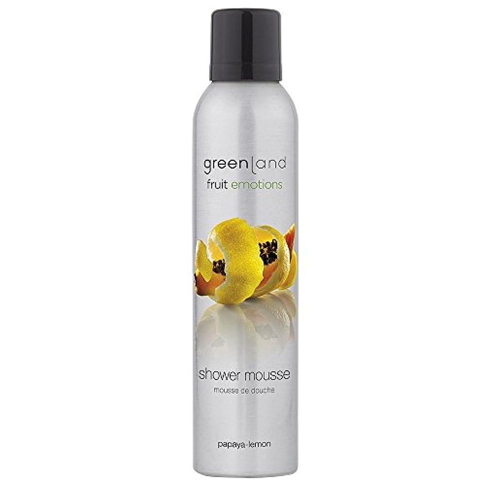 記念碑的な偶然の感じgreenland [FruitEmotions] シャワームース 200ml パパイア&レモン FE0071