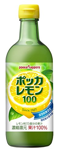 ポッカレモン100 450ml