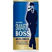 サントリー コーヒー スマート ボス-脂肪ゼロ・砂糖ゼロ- 190g×30本