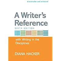 A Writer's Reference with Writing in the Disciplines 6th Edition