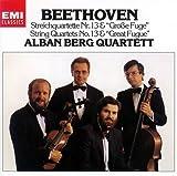 ベートーヴェン:弦楽四重奏曲 第13番「大フーガ」