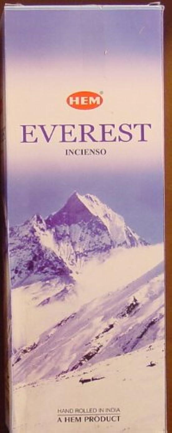視力ビルマベーシックHEM(ヘム)社 エベレスト香 スティック EVEREST 6箱セット
