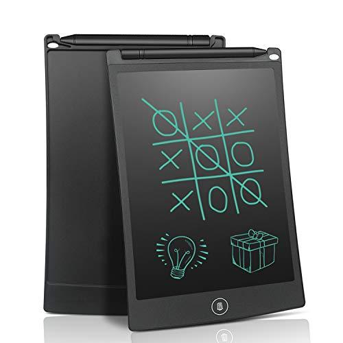 電子パッド 電子メモ帳 8.5インチ NEWYES 薄型 デジタルメモ 手書きパッド ペン付き 磁石付き ストラップホール機能 電池交換可能 お子様の画板 計算 落書き 筆談 伝言板 デジタルペーパー 大人気ギフト(黒)
