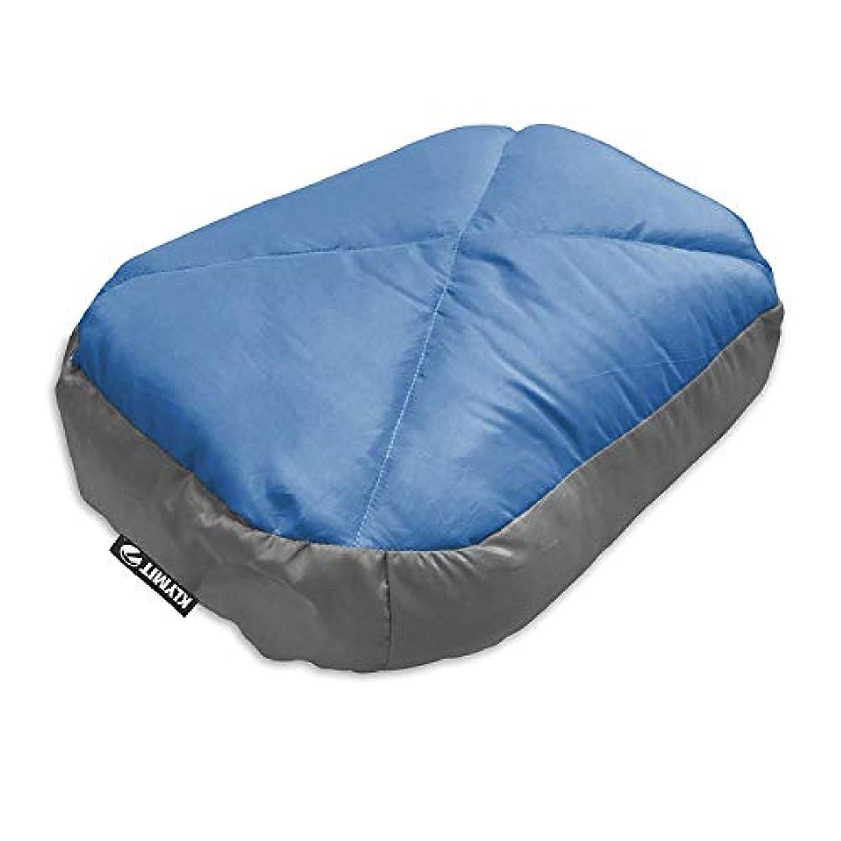 破壊的脚本家不要Klymit Top Down Pillow (12DPBL01C), Gray/Blue [並行輸入品]