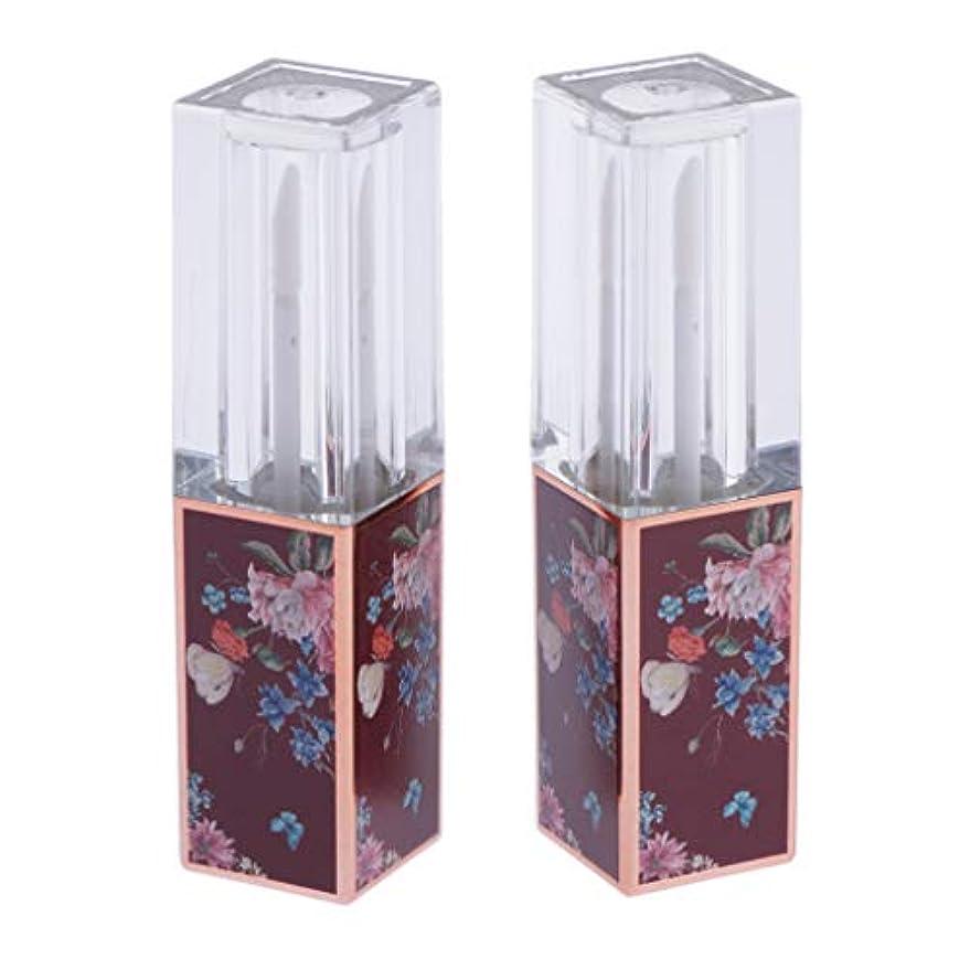 宇宙の和らげるエクステント2個入 口紅チューブ リップスティック DIY プレゼント 香水 口紅 手作り化粧品 3.5ml 全6色 - 03