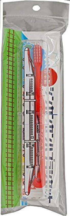 溶融浪費オーブン新幹線歯ブラシセット E6系こまち SH-553