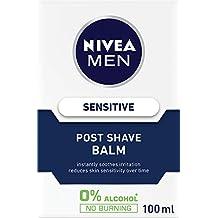 NIVEA Men Sensitive Post Shave Balm. For Sensitive Skin, 100ml