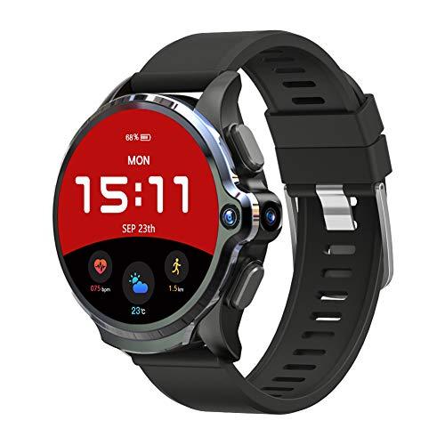 2020最新版KOSPET PRIME 4Gスマートウォッチ GPS フェイスIDロック解除 IP67防水 3GB+32GB 5MP Camera 1260mah Android 7.1 ランニングウォッチ iphoneAndroid対応 多国言語 (Smart Watch)