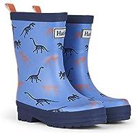 Hatley Big Boys' Rainboots -Sharks, Blue