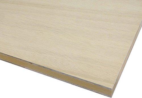 【木芸社】フラッシュパネル(F☆☆☆☆) 木製パネル・ベースパネル・レイアウトボード・模型土台 (500×400mm 厚み28mm)