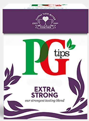 Unilever ユニリーバ 紅茶ピージーチップス ストロング、ピラミッド型ティーバッグ 80袋入り