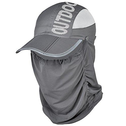 SmartRICH 360度 UVカット 日よけ帽子, 日焼け防止 紫外線対策 ...