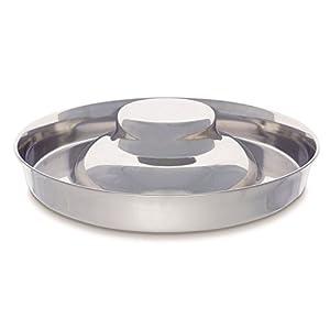 子犬用ステンレス・円盤型ボウル Mサイズ