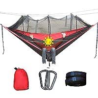 キャンプ ハンモック と 蚊帳 積載量300kg 1-2人 ポータブル アウトドア 旅行 にとって ハイキング,300X200CM