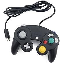 iFormosa GameCube ゲームキューブ Wii 有線 コントローラ 黒 IF-GCC-WD-BK