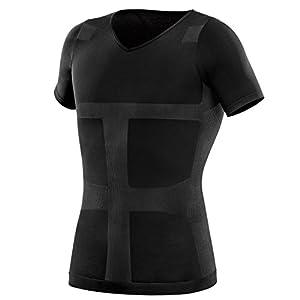 La-VIE(ラヴィ) 加圧インナーシャツ すごいぞ加圧シャツ Mサイズ カラー ブラック 3B-3752