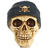 JOYS CLOTHING パーティー用品、ハロウィーンの装飾のための帽子と取り外し可能な頭蓋骨の骨の骨モデル