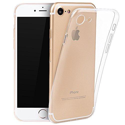 TC JOY iPhone7 ケース TPU保護カバー クリ...