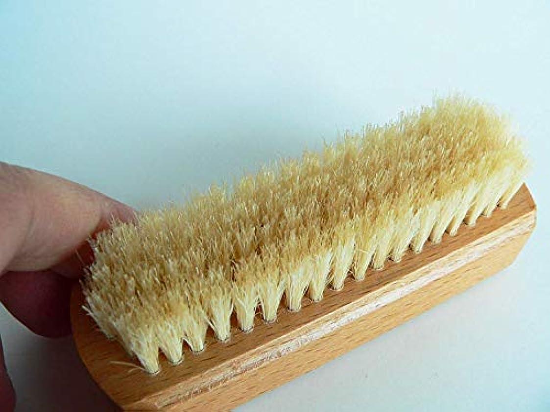 アフリカ準拠高価な浅草の老舗ブラシ専門店の 爪磨き ネイルブラシ (2個セット)