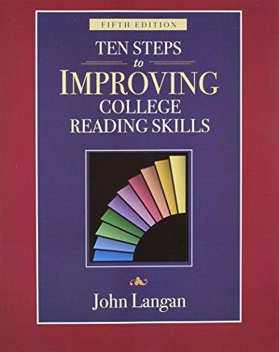 Download Ten Steps of Improving College Reading Skills 1591940990