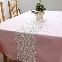 ピンク 防塵 テーブル,四角形 装飾的です テーブル クロス,デスクトップ装飾 ビュッフェ テーブルに最適 第三者 バーベキューの 結婚-C 90x90cm(35x35inch)