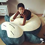 "EmmetStore(TM) 59"" Giant Snorlax Plush Kabigon Doll Cover Case Xmas Kid's Gift Only The Cover"