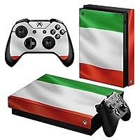 igsticker Xbox One X 専用 スキンシール 正面・天面・底面・コントローラー 全面セット エックスボックス シール 保護 フィルム ステッカー 001189