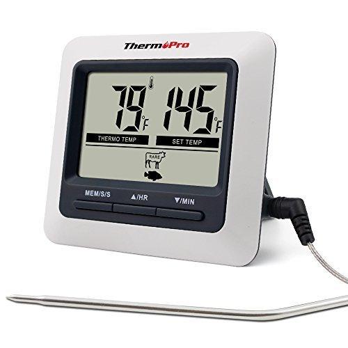 ThermoPro デジタルクッキング 料理用 オーブン温度...