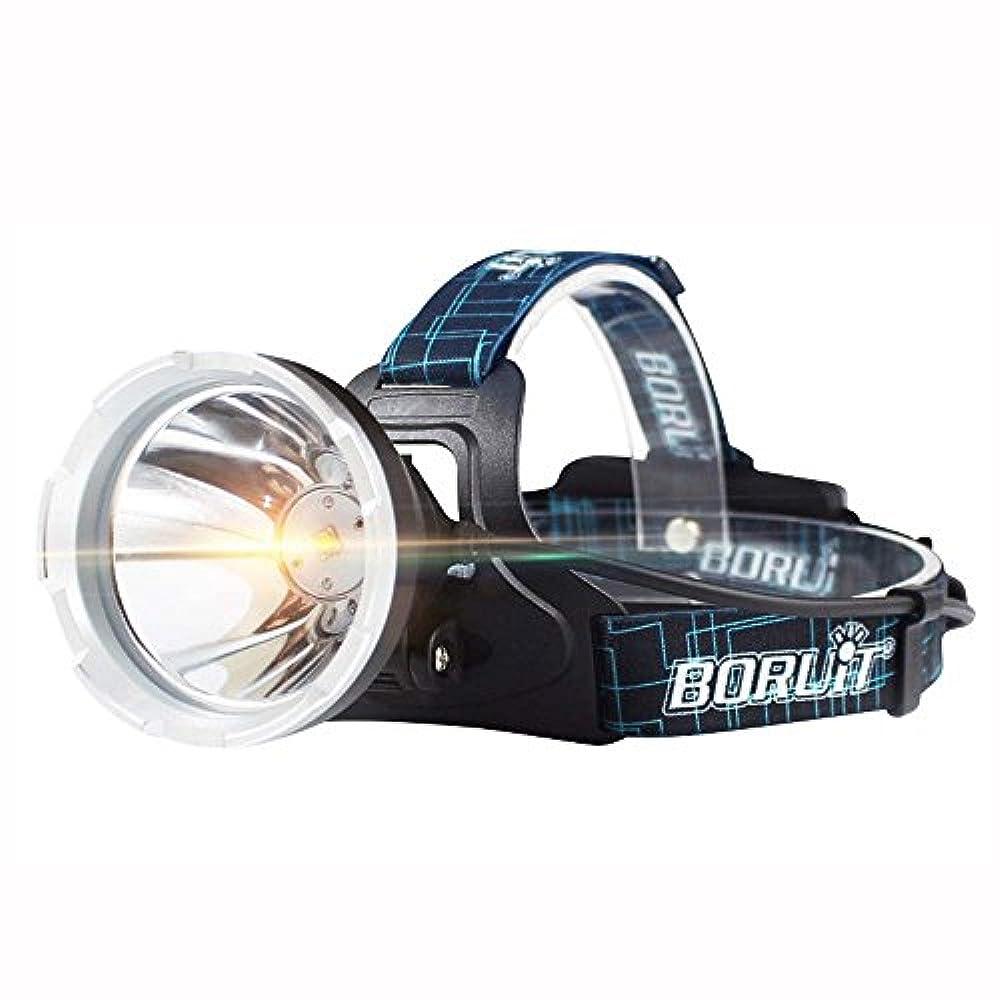 禁止するスタジオ代表XIAOBUDIAN B10 XM-L2 LEDヘッドランプ3800LM 3モードヘッドライトマイクロUSB充電式ヘッドトーチフロントライトキャンプランプ18650