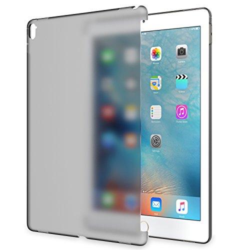 ATiC New iPad Pro 12.9 2017/ iPad Pro 12.9 2015用 半透明製ケース 公式キーボードコンパチ Frosted BLACK