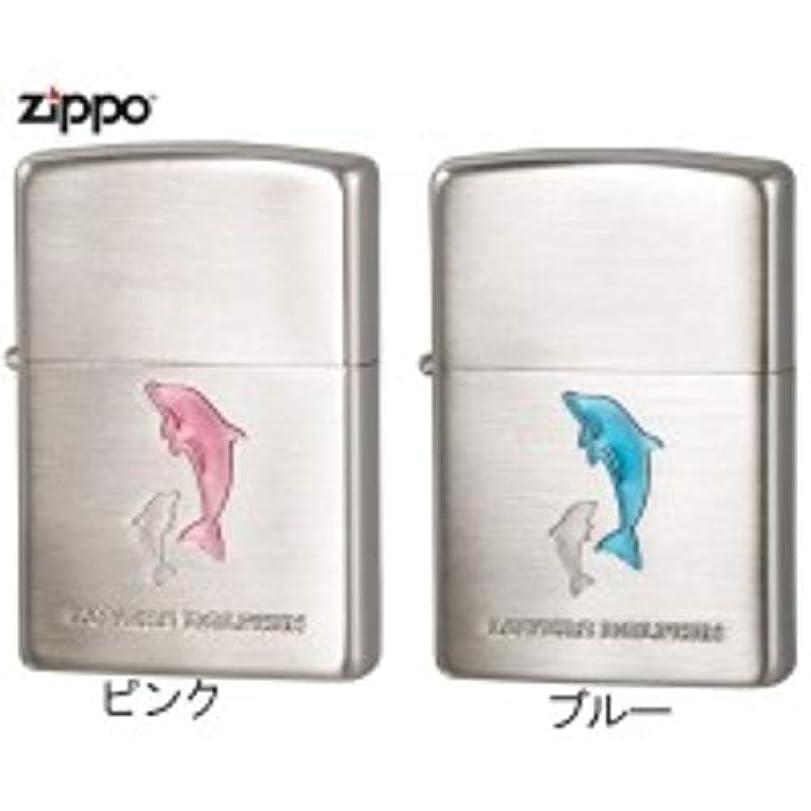 騒ぎ抵抗願うZIPPO(ジッポー) ライター ラバーズ?ドルフィン(Lovers Dolphin) ピンク?63400198
