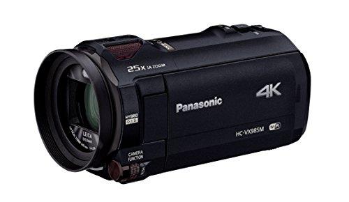 パナソニック 4K ビデオカメラ VX985M 64GB あとから補正 ブラック HC-VX985M-K
