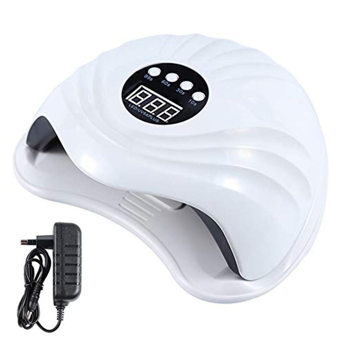 因子自治局YHSUNN Sun5x Plus UVネイルセラピーマシンランプライト108ワット36 LEDタイマーレスマニキュアツール付き痛みのないセラピージェルポリッシュドライヤー