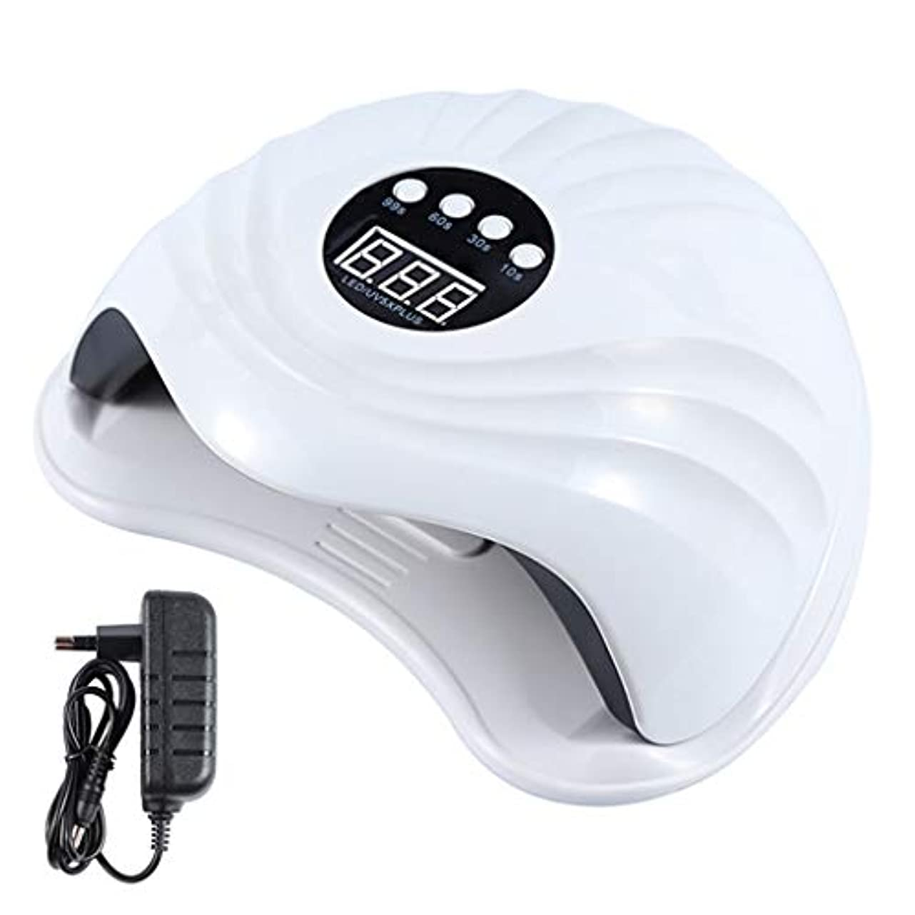 東方大脳不機嫌YHSUNN Sun5x Plus UVネイルセラピーマシンランプライト108ワット36 LEDタイマーレスマニキュアツール付き痛みのないセラピージェルポリッシュドライヤー